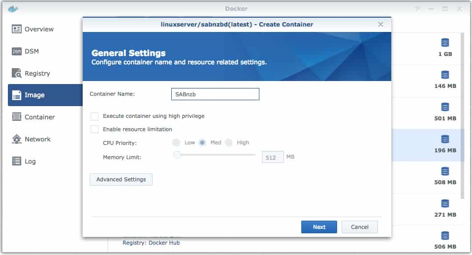 SABnzbd (Docker) | How to Setup SABnzbd on a Synology