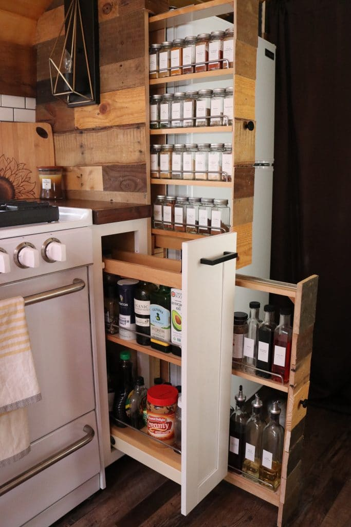 Rev-a-Shelf spice cabinets